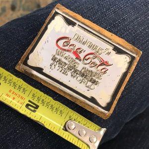 Vintage Accents - Vintage Coka-Cola Mirror Mini